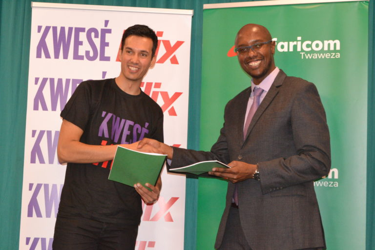 Kwese Partners with Safaricom to provide world cup streaming services