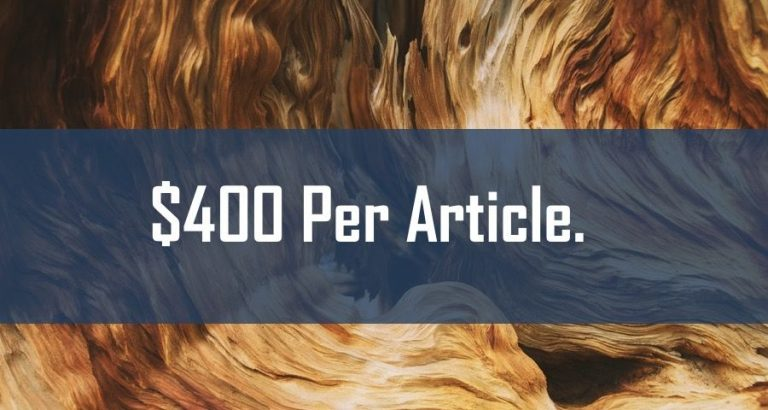 Companies that Pay Writers $400+ Per Article