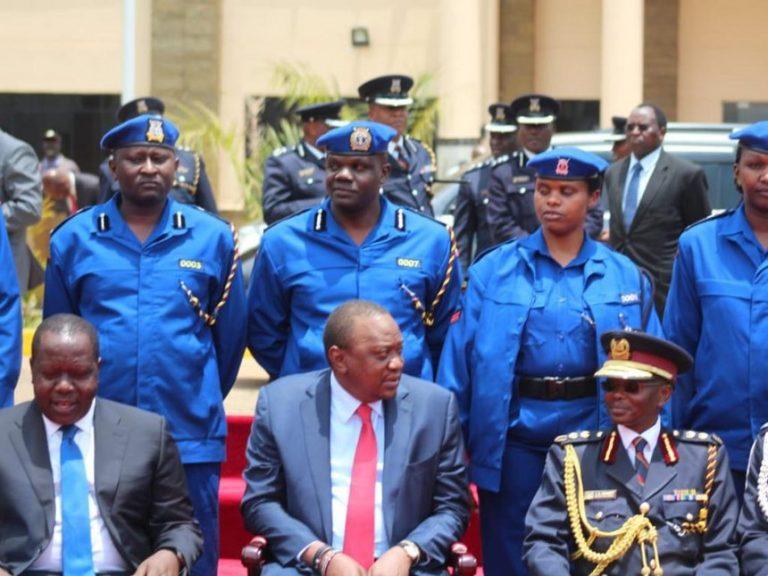 Kenyans React to New Police Uniforms