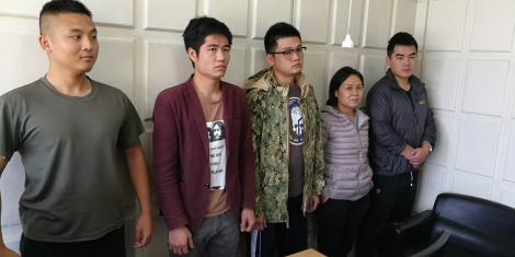 5 Chinese Arrested and Military Equipment and Uniforms Recovered