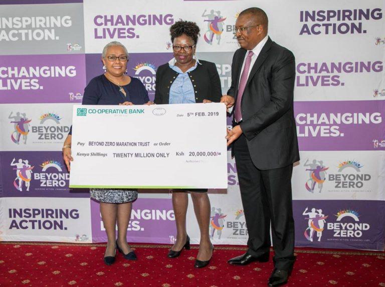 Co-op Bank, other corporate donates over Sh163 million to Beyond Zero Marathon