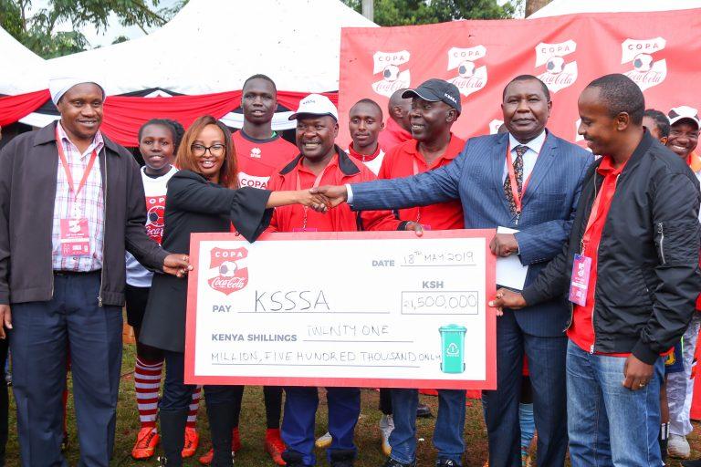COPA COCA-COLA TOURNAMENT TO REWARD SCHOOLS WITH A REFURBISHED FOOTBALL PITCH