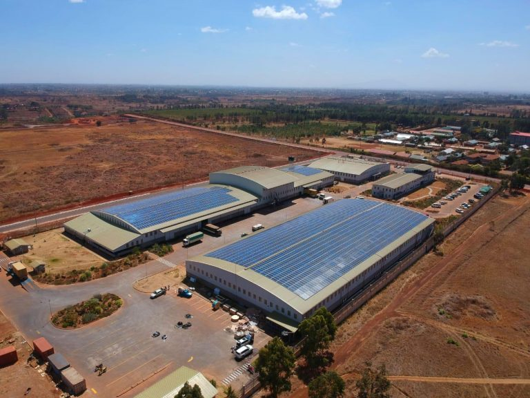 Tatu City and Equator Energy deliver first solar power plant