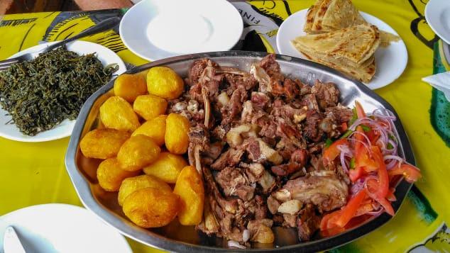 Kenyan food with a twist