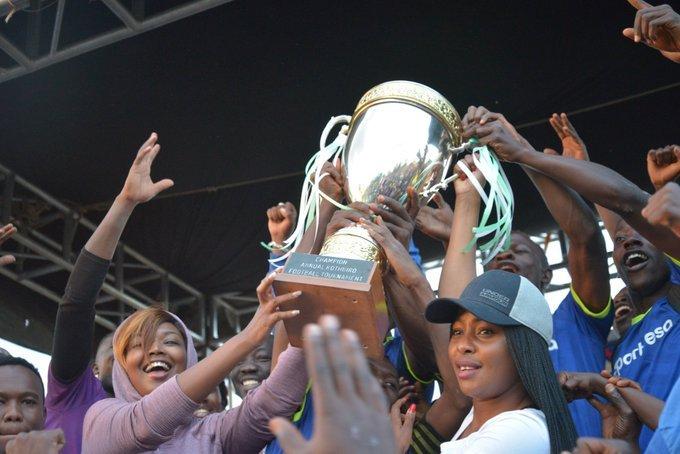 Nyamu hails sports progress in Nairobi,says new stadia will improve football