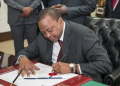 Its Sh378bn for Counties as President Uhuru signs into law revenue bill