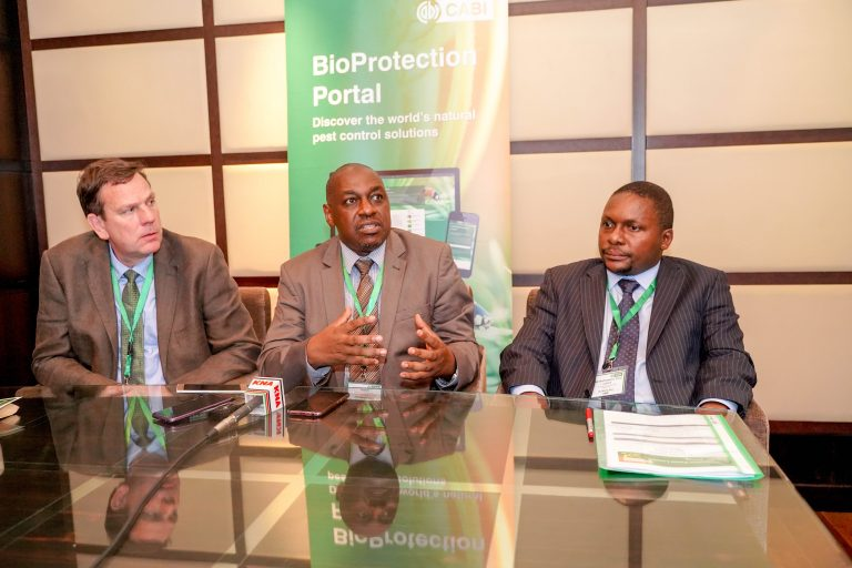 CABI launches resource centre to promote use of safer bio products in farming