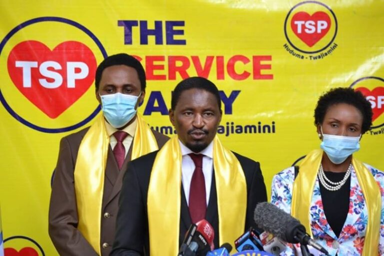 KIUNJURI BOUNCES BACK WITH A NEW POLITICAL PARTY