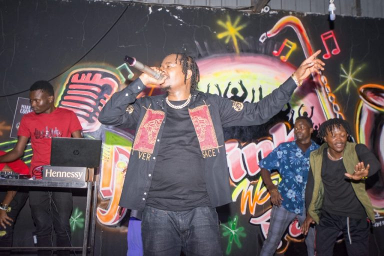 Genge Vibes Party at Wasafi Lounge Show sees Juacali thrill fans with his hit songs