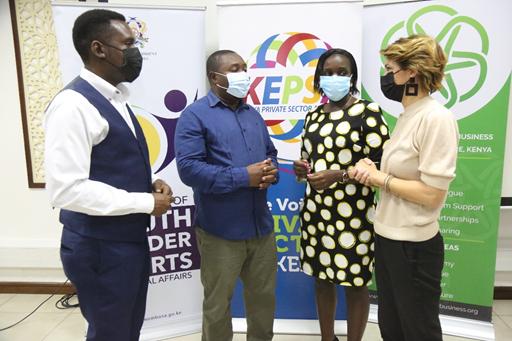KEPSA, Mombasa County, French Embassy, partner towards a Blue Economy and Environment Conservation